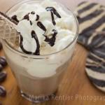 Zebra ijskoffie