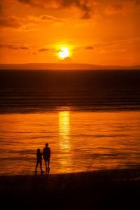 zonsondergang, door Marika Rentier fotografie